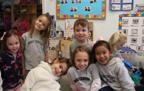 Students at the Barat Center enjoy celebrating during the Christmas season.