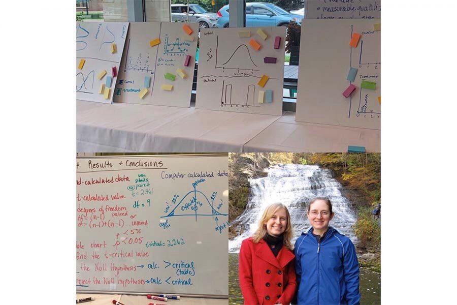 Dr.+Kristina+Gremski+takes+a+sabbatical+to+research+molecular+biology.+