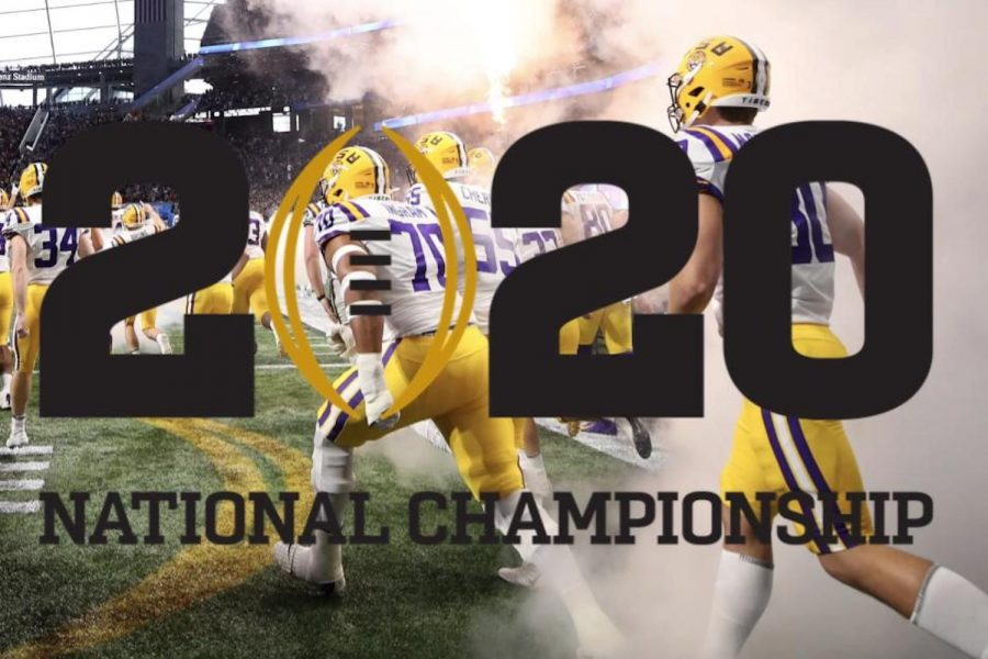 Louisiana+State+University+%28LSU%29+defeated+Clemson+University+in+the+2020+College+Football+Playoff+Championship+January+13.+
