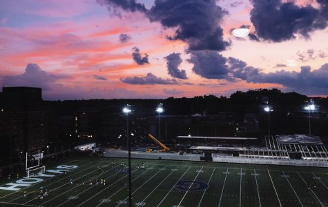 """Art of the Week - """"Georgetown Sunset"""" -  Ms. Daisy Steinthal '19"""