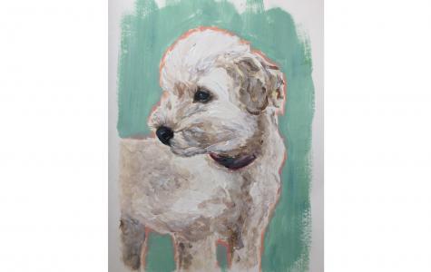 "Art of the Week –  ""Teddy"" – Elisa Taylor '22"