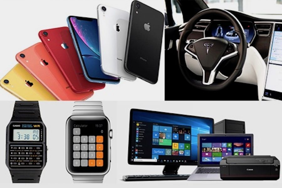 The iPhone, Tesla cars, and the Apple Watch are a few of the different types of technology that have impacted the past decade.