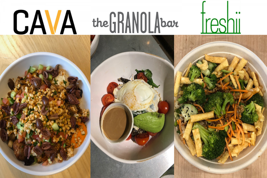 For this edition of Guide to Greenwich, we ate at Cava, The Granola Bar, and freshii in search of the best grain bowl in Greenwich Connecticut.