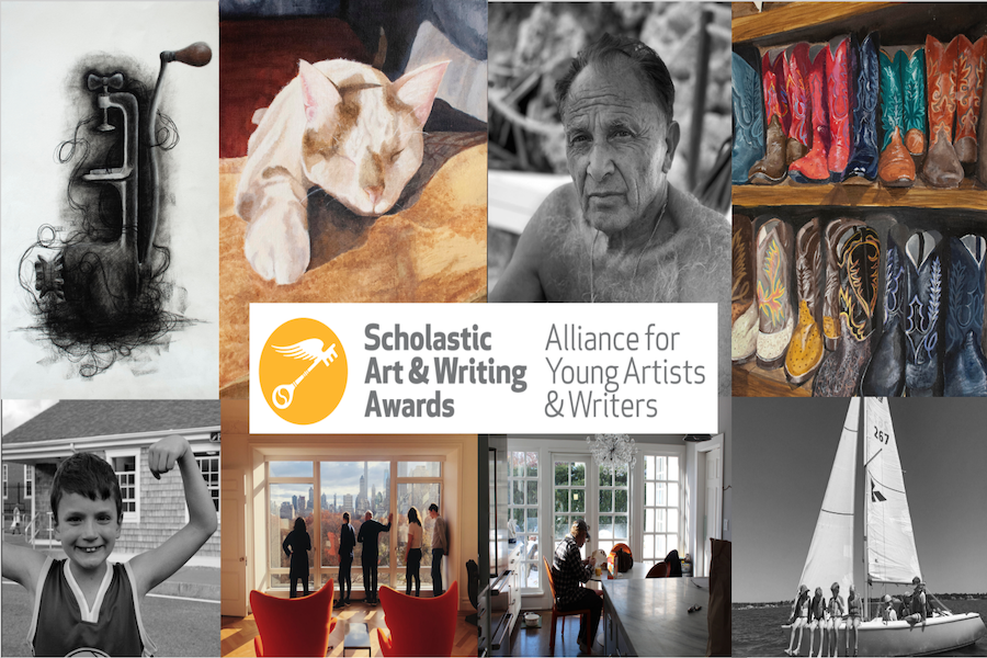 Eight+Upper+School+students+won+Silver+and+Gold+Keys+in+the+2019+Scholastic+Art+Awards.+