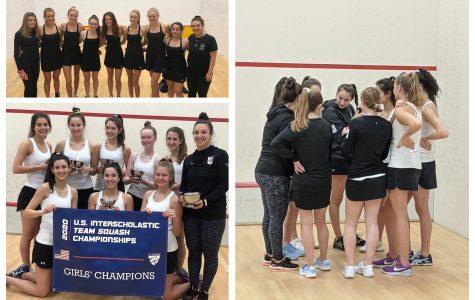 Squash teams serve up success at Nationals
