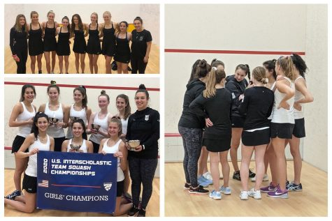 The Sacred Heart Greenwich Varsity A and Varsity B squash teams competed in championship tournaments this month.