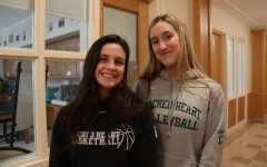 """Humans of Sacred Heart"" – Franny O'Brien '22 and Lucy Catalano '22"