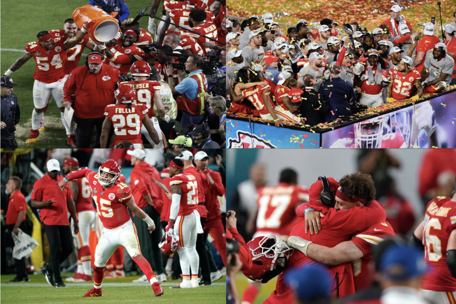 The+Kansas+City+Chiefs+celebrate+their+first+Super+Bowl+victory+in+50+years.