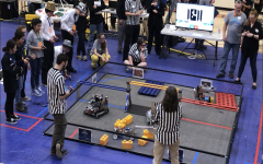 Learning and competing at the FIRST Tech Challenge tournament