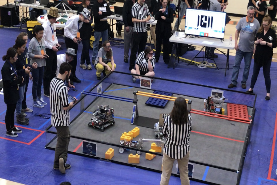 Sacred+Heart+Greenwich+students+competed+at+the+FIRST+Tech+Challenge+%28FTC%29+Central+Connecticut+Qualifier+tournament+February+8.+