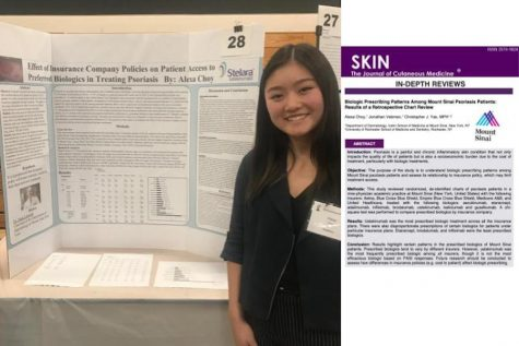 Medical journal publishes senior Alexa Choy's research article