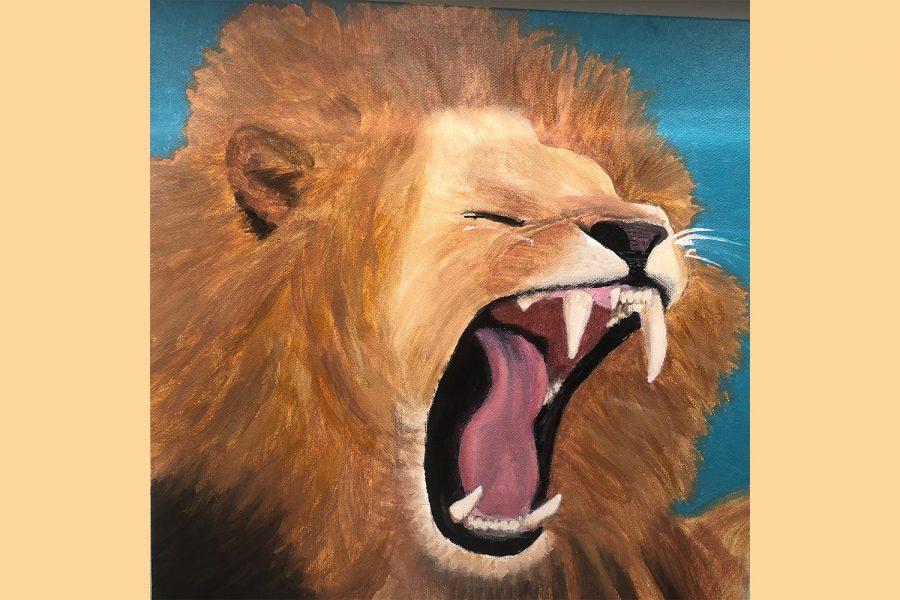 """Art of the Week – """"Roar"""" – Vivi Caruso"""