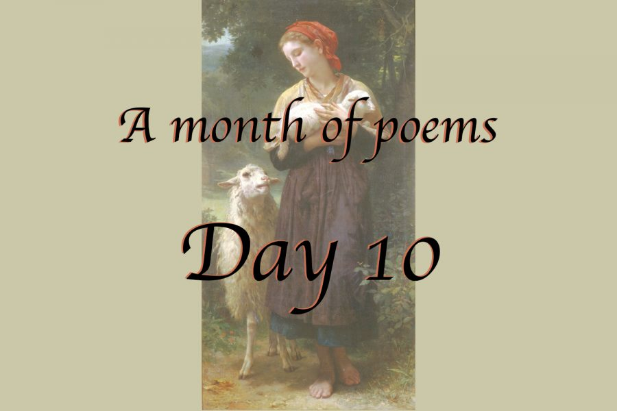 A month of poems: Day ten