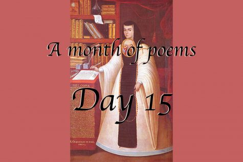 A month of poems: Day 15