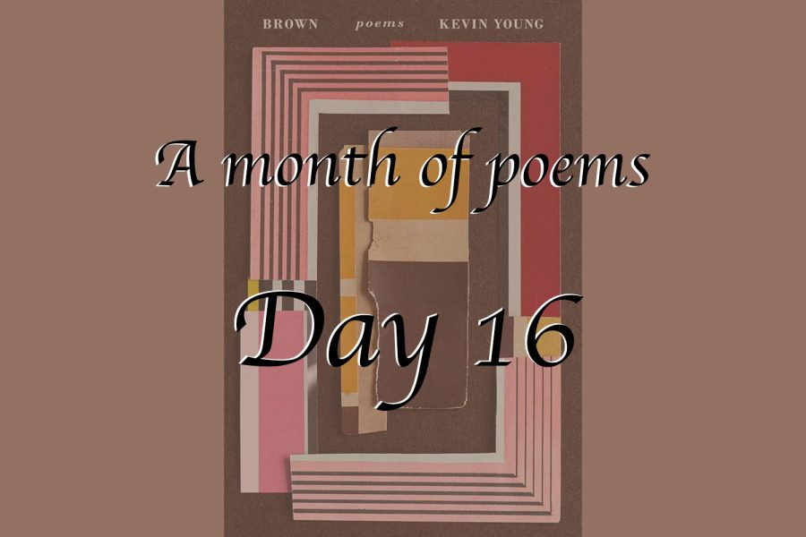 A month of poems: Day 16