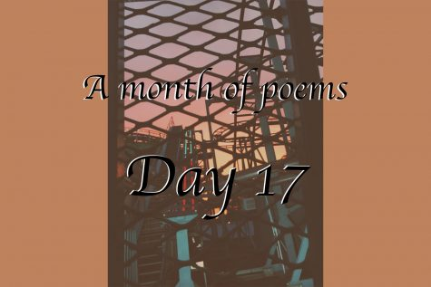 A month of poems: Day 17
