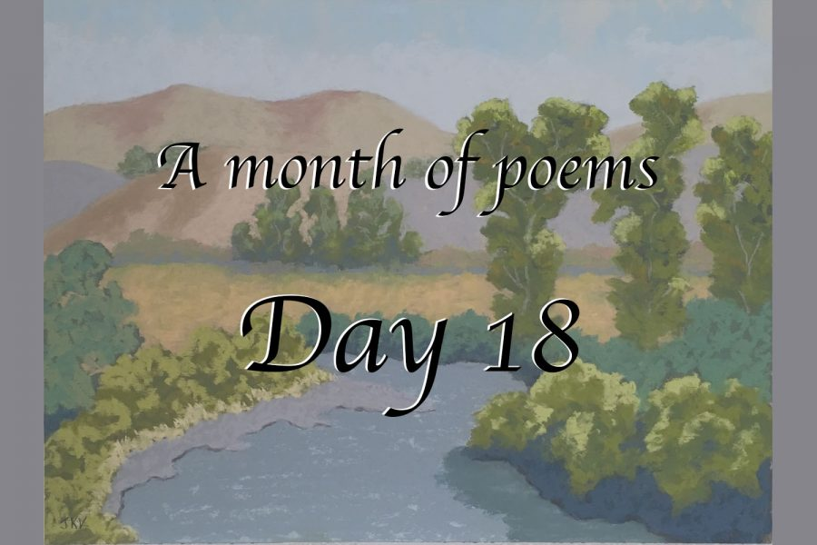A month of poems: Day 18