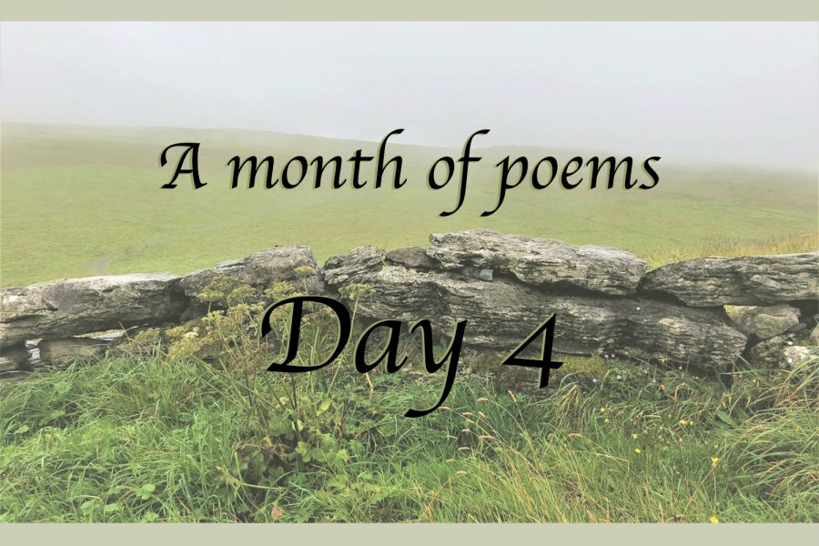 A month of poems: Day four