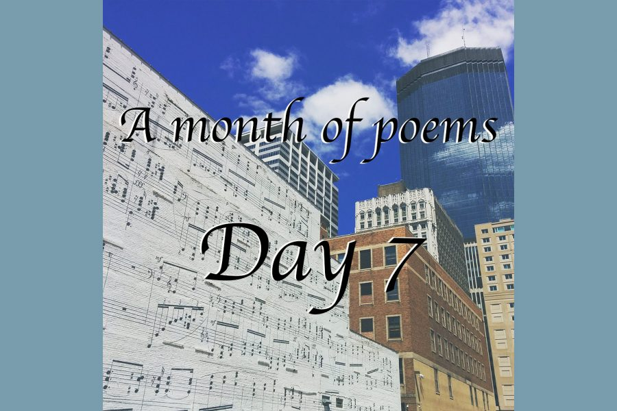 A month of poems: Day seven