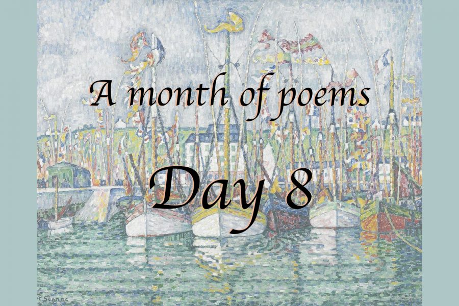 A month of poems: Day eight