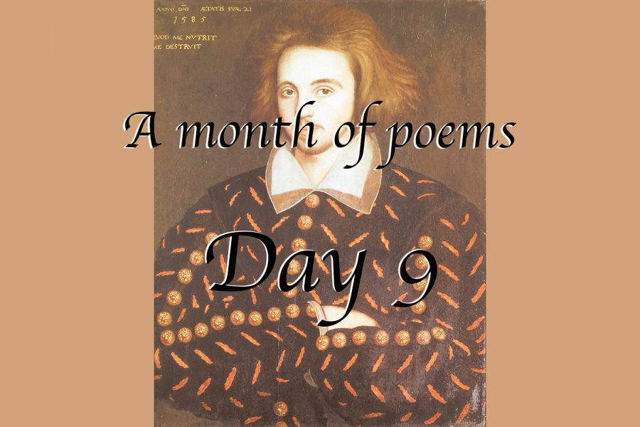 A month of poems: Day nine