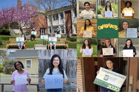 Sacred Heart Greenwich continues to celebrate its senior class from a distance.
