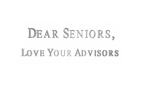 Dear Seniors, Love Your Advisors 2020