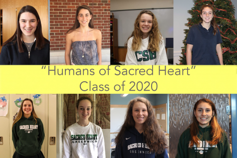 """Humans of Sacred Heart"" the Class of 2020 over the years"