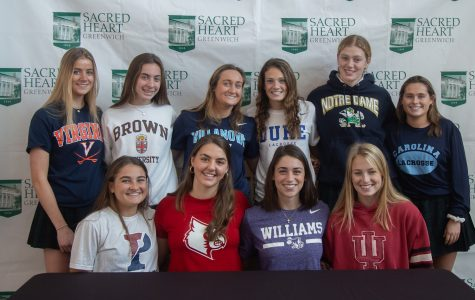 Ten Sacred Heart seniors will be furthering their athletic careers in college.