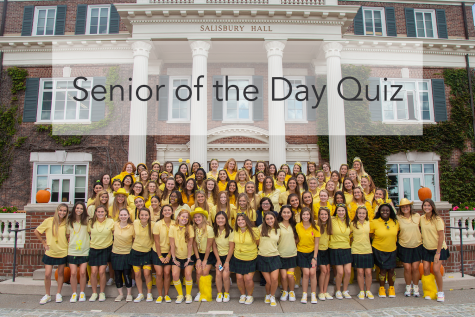 Take this Senior of the Day quiz