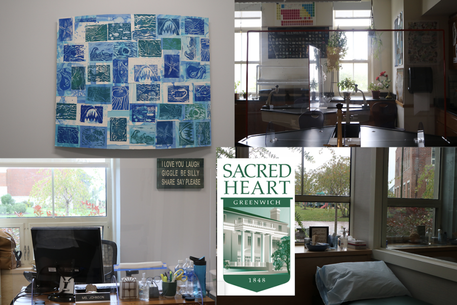Sacred Heart Greenwich Grounds and Building staff worked all summer in an effort for reopening in the fall for students.