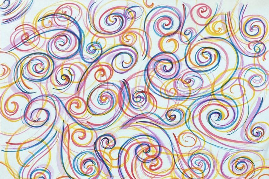 "Art of the Week – ""Spiraling"" – Sasha Kalinichenko '21"