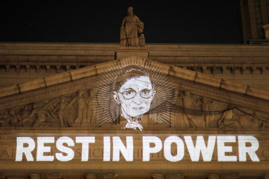 The New York State Civil Supreme Court honors Mrs. Ruth Bader Ginsburg for her achievements in gender equality.