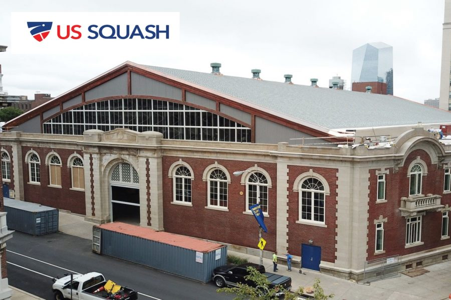 The Arlen Center Squash Center will include 16 singles squash courts and two doubles squash courts.