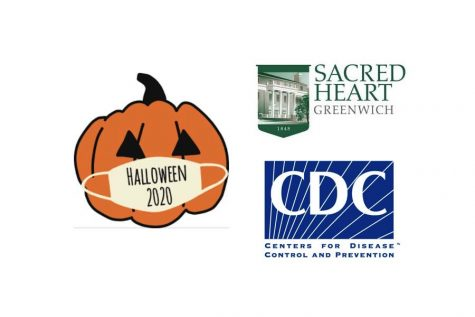 Sacred Heart Greenwich students celebrate Halloween while adhering to CDC guidelines.