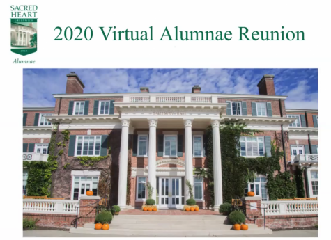 The annual Alumnae Reunion took place virtually this year Saturday, October 3.