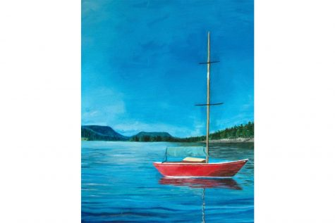 "Art of the Week – ""Afloat"" – Sydney O'Connor '21"
