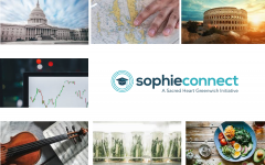 Sacred Heart students forge global connections through taking  SophieConnect classes.