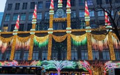 """Art of the Week – """"Christmas Cheer on Fifth Ave"""" – Liv Lockwood '21"""