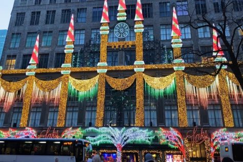 "Art of the Week – ""Christmas Cheer on Fifth Ave"" – Liv Lockwood"