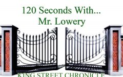120 Seconds With... Mr. Lowery