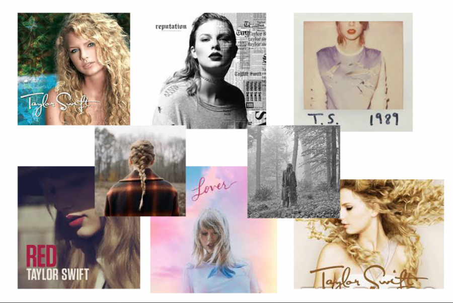 Taylor Swift released nine albums over her 14-year musical career.