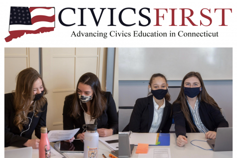 Sacred Heart Greenwich participates in the 2021 Civics First Mock Trial competition, emerging with a win.