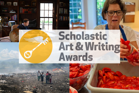Student writers and artists receive recognition in the Scholastic Art and Writing Awards