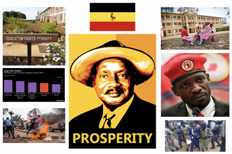 In a controversial election, Mr. Museveni won his sixth presidential term.