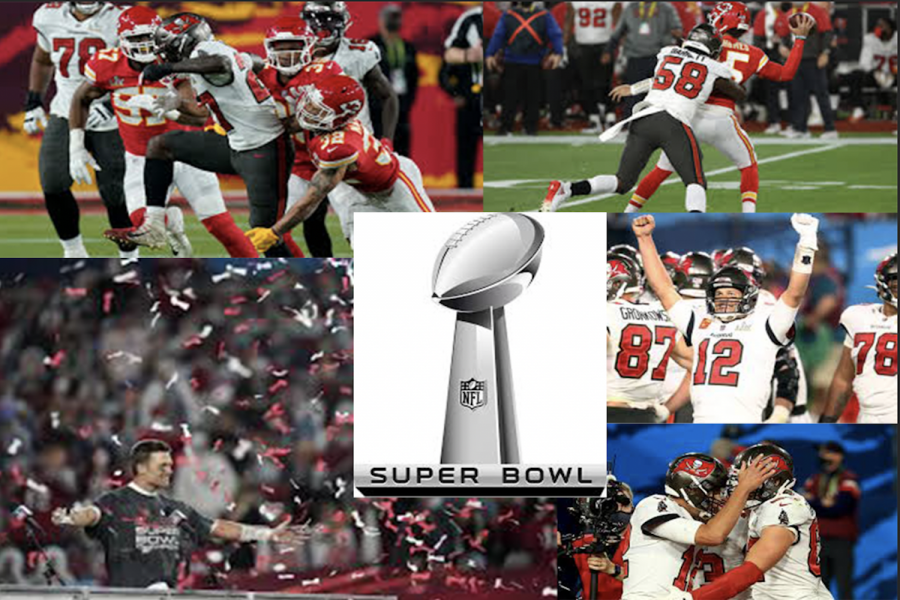 The Tampa Bay Buccaneers win the Super Bowl for the second time in history.