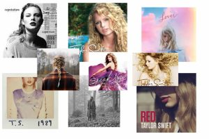 Miss Taylor Swift released nine albums over her 14-year musical career.