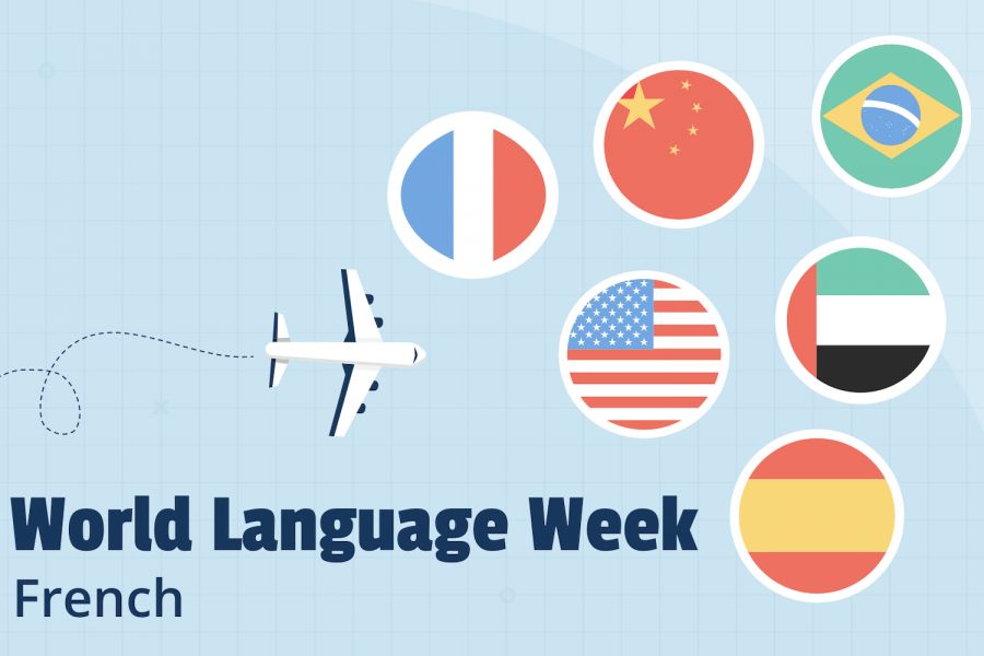 For this year's World Language Week, Sacred Heart Greenwich students from the Chinese, Spanish, French, and Arabic classes shared their work  in the foreign language that they study.