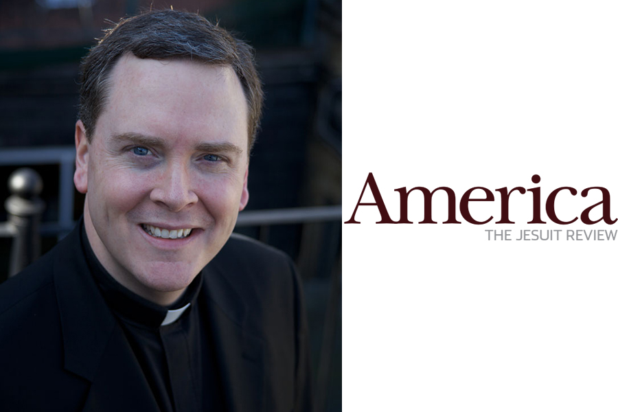Father+Matt+Malone%2C+S.J.+is+the+youngest+Editor-in-Chief+in+history+for+America+Magazine.