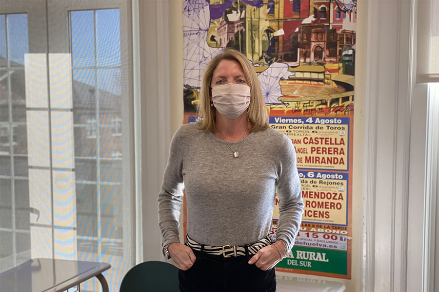 Humans of Sacred Heart - Ms. Judy Scinto
